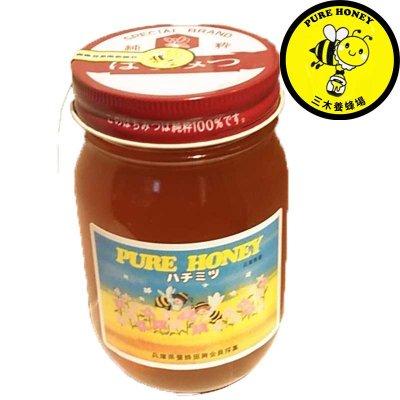 国産純粋蜂蜜(卯の花蜜 500g) 三木養蜂場