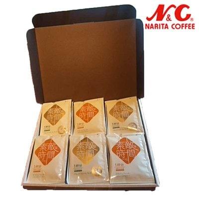 簡易式ドリップコーヒー 「素敵な時間」1杯分  30個入りギフト箱入り ...