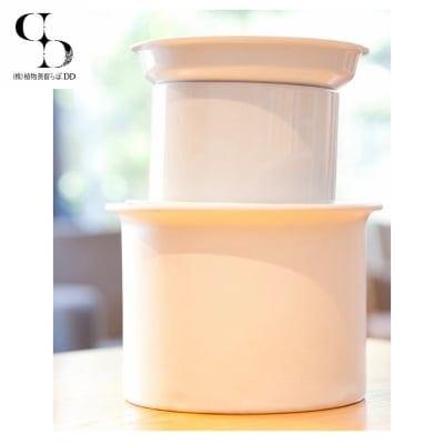 【蒸留調理器】ATRPOT /アートゥルポット/ホワイト(特許|蒸留器|蒸し器|水蒸気蒸留法)