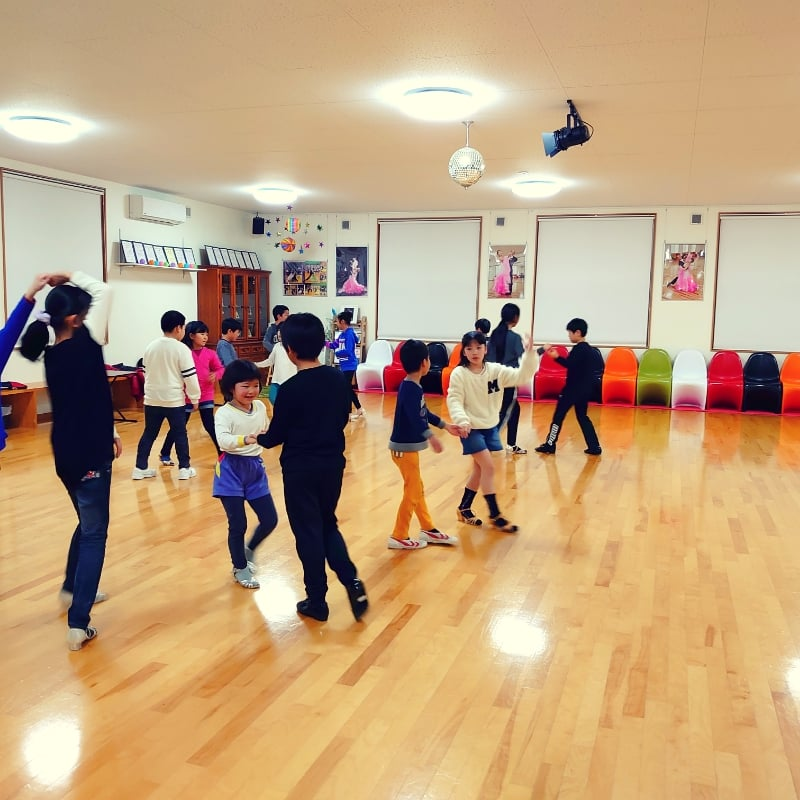 入会金&初年度年会費無料!幼児社交ダンスクラス1カ月コースのイメージその1