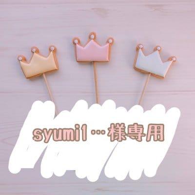 【syumi1...様専用】8/14発送 バースデー用アイシングクッキー