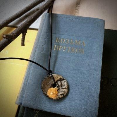【ペンダント】今日という日へのメダル  l