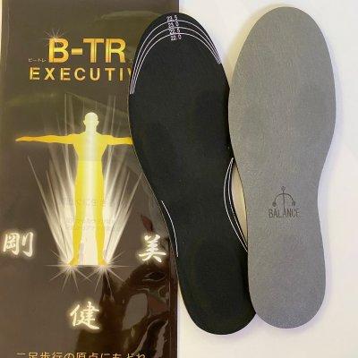 姿勢がよくなるインソール 「バランスインソール エグゼクティブ」足のアーチを作るインソールで骨盤の歪みも矯正 神戸三宮のひふみ整体セレクトアイテム