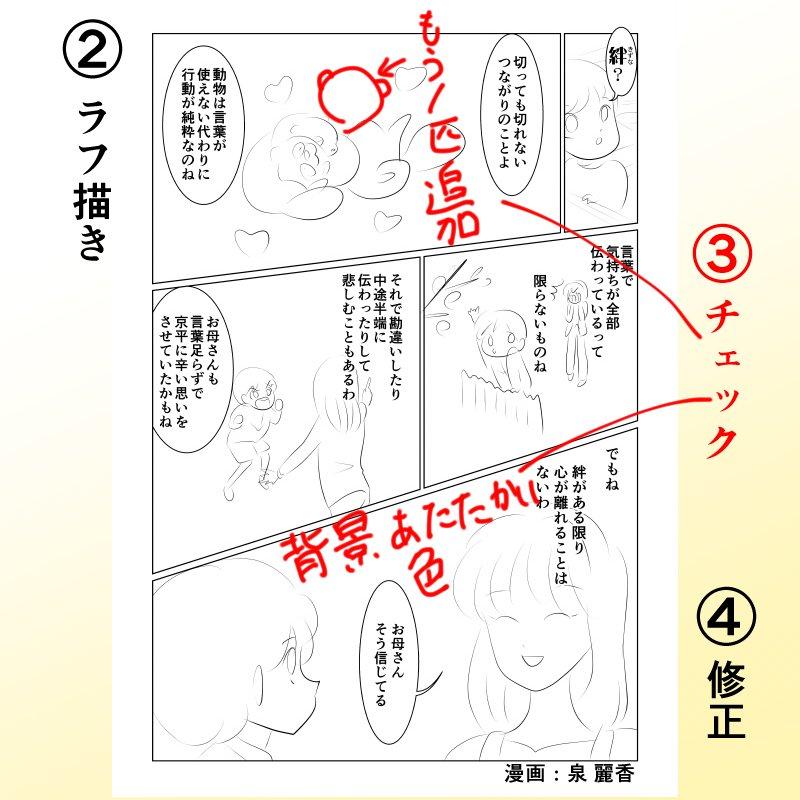 あなたが主人公の漫画を描きます【マンガ自分史】1エピソードのイメージその3