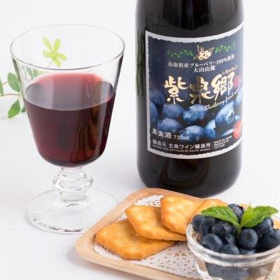 ブルーベリーワイン 紫泉郷