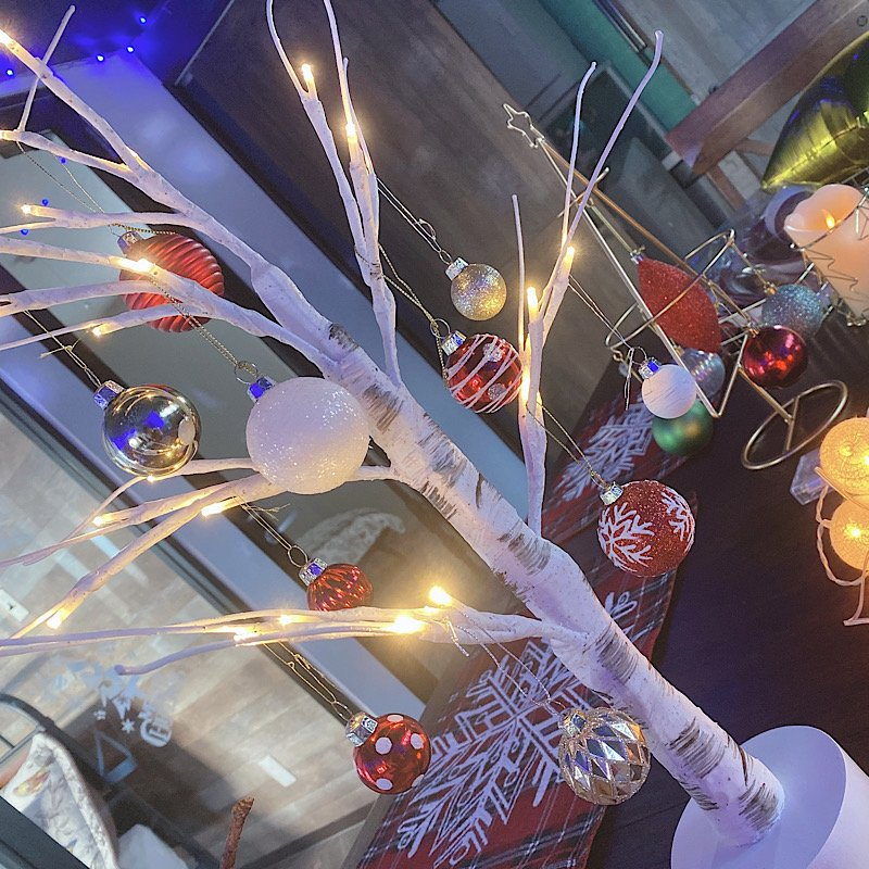 ⭐️期間限定⭐️240㎝のクリスマスツリーをご用意♪飾り付けや片付け不要‼︎【クリスマスパーティープラン5時間6,000円】一棟時間貸し〜 Harbor SEIWA 〜のイメージその2