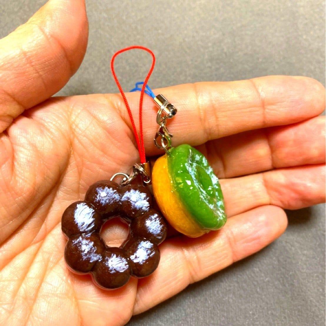 粘土で作るかわいいドーナツストラップ作り/クレイワークショップウェブチケット(500円税込50ポイント付)のイメージその2