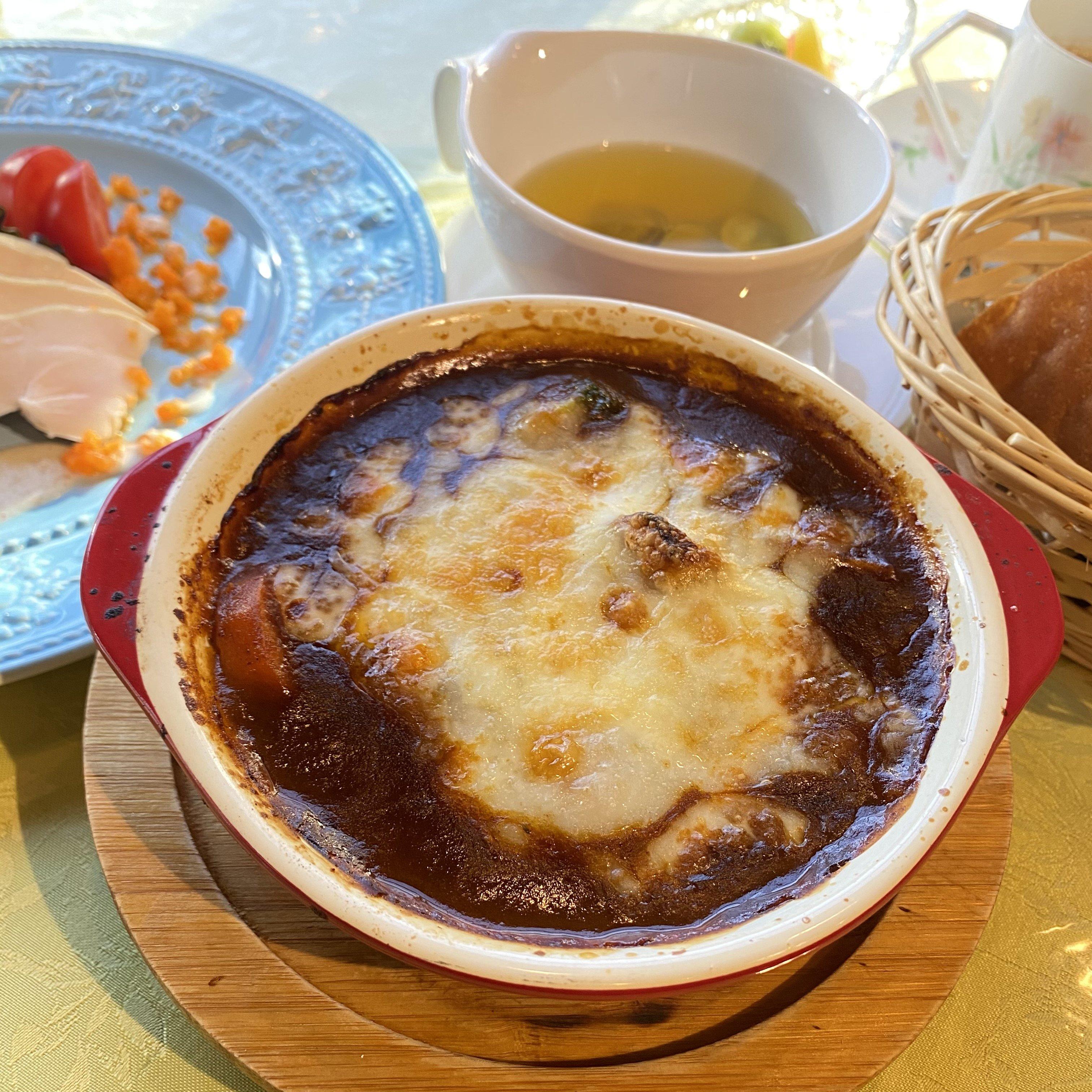 「フルーヴァン」オリジナル焼きビーフシチューランチセットのイメージその1