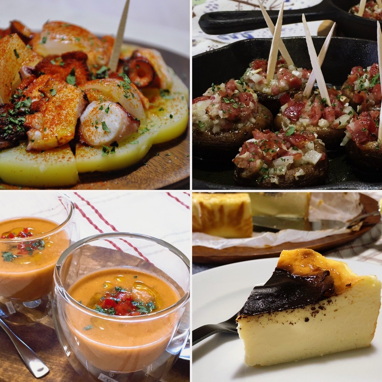 【オンライン】9月16日(木)バスクチーズケーキ&スペインタパスLessonのイメージその1