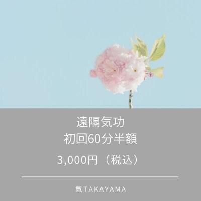 遠隔気功/60分(初回のみ)