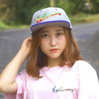 Harmony Tシャツ ベビーピンク×ピンク
