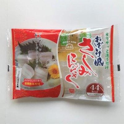 ヒバ おばいけ風さしみこんにゃく(特製酢みそ付)