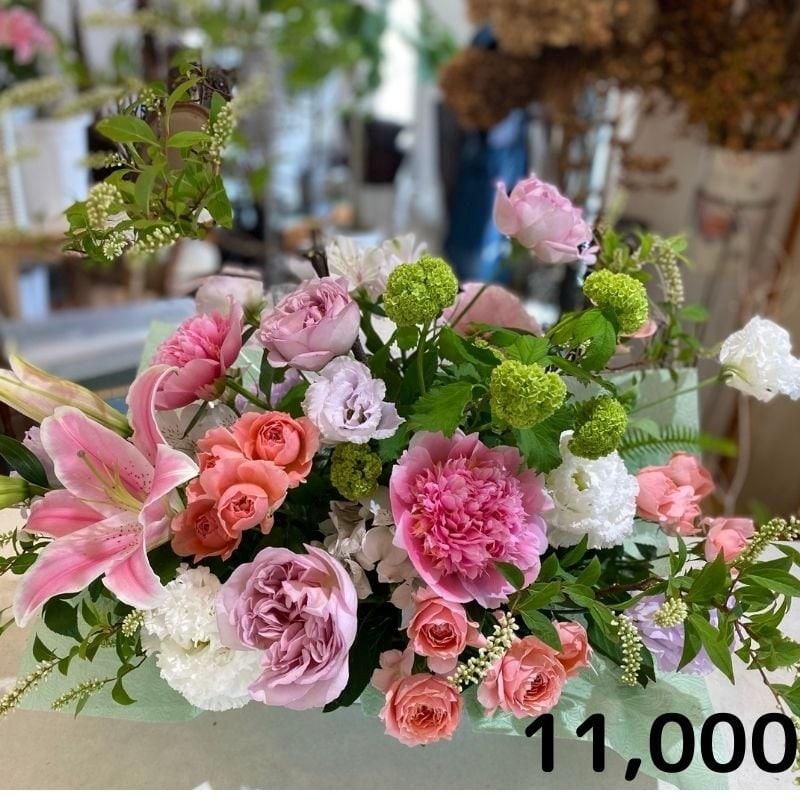 フラワーチケット代11000円 *お花のイメージ確認の為、必ずお電話ください。のイメージその1