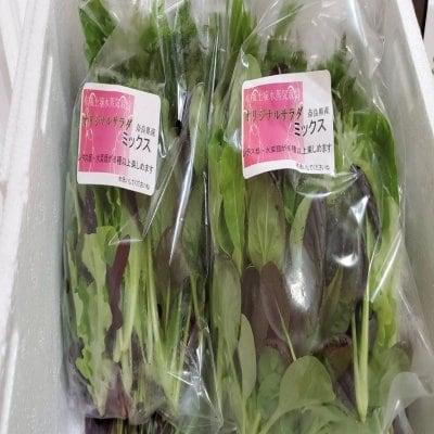 農薬不使用❕おまかせサラダミックスセット1袋70g×5パック