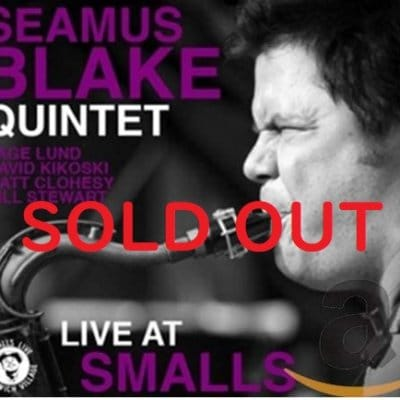 【中古CD jamaica0629】 シェイマス・ブレイク Seamus Blake Quintet / Live at Smalls インポート