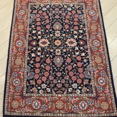 トルコ製 ウール 手織り絨毯 ラグ 115×78cm アクセントサイズ 玄関サイズ ヘレケ産 SUMER工房