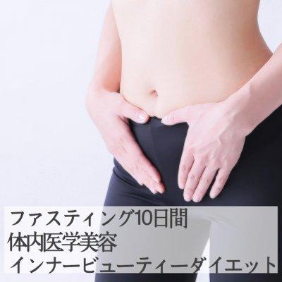 ファスティング 10日間[肝臓、血液、腸デトックスコース]ZOOMか電話か来院によるカウンセリング付き 体内医学美容 インナービューティーダイエット