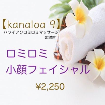 【kanaloa 9】姫路市サロン ロミロミ小顔フェイシャル ¥2,250のイメージその1