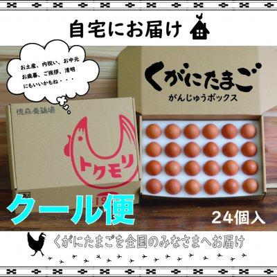 【南国 沖縄の黄金卵】くがにたまご がんじゅうBOX 24個入り ※送料無...