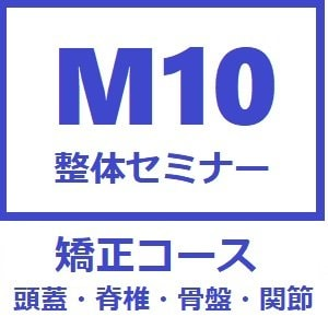 【矯正コース】M10整体セミナー〜店頭払い専用ケット