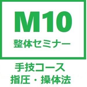 【手技コース】M10整体セミナー〜店頭払い専用ケット