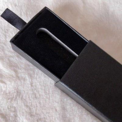 ハーバリウムボールペン専用黒箱(箱のみ)