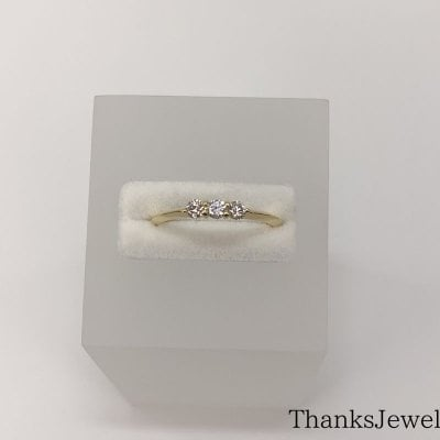ゴールド(K18)ダイヤモンドリング