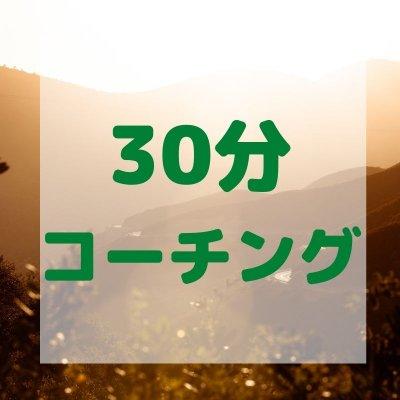 【30分コーチング】サンクスチケット