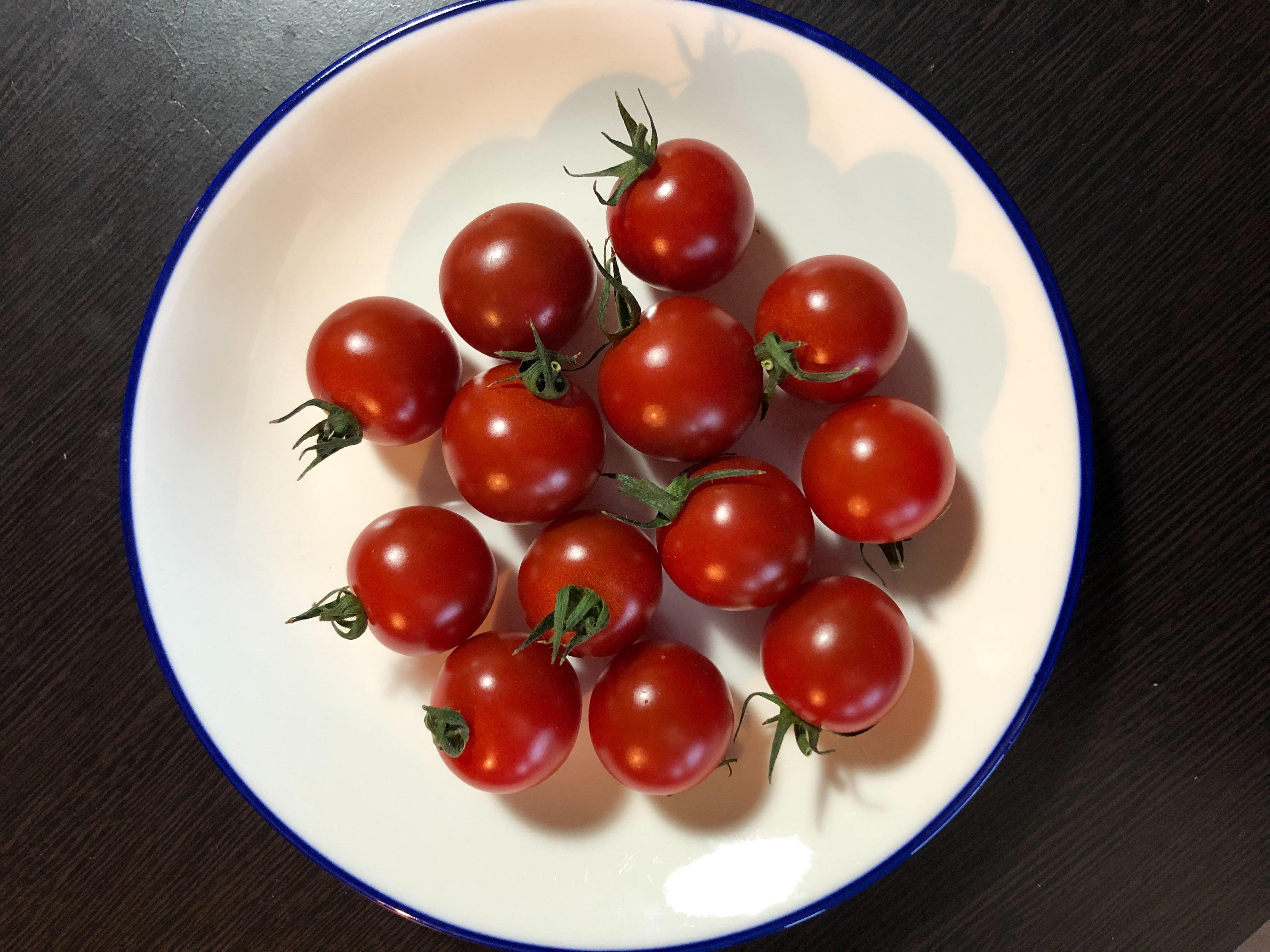 [現地受け渡し/デリバリー専用】有機肥料栽培/ミニトマト(小鈴)/150g/1Pのイメージその2