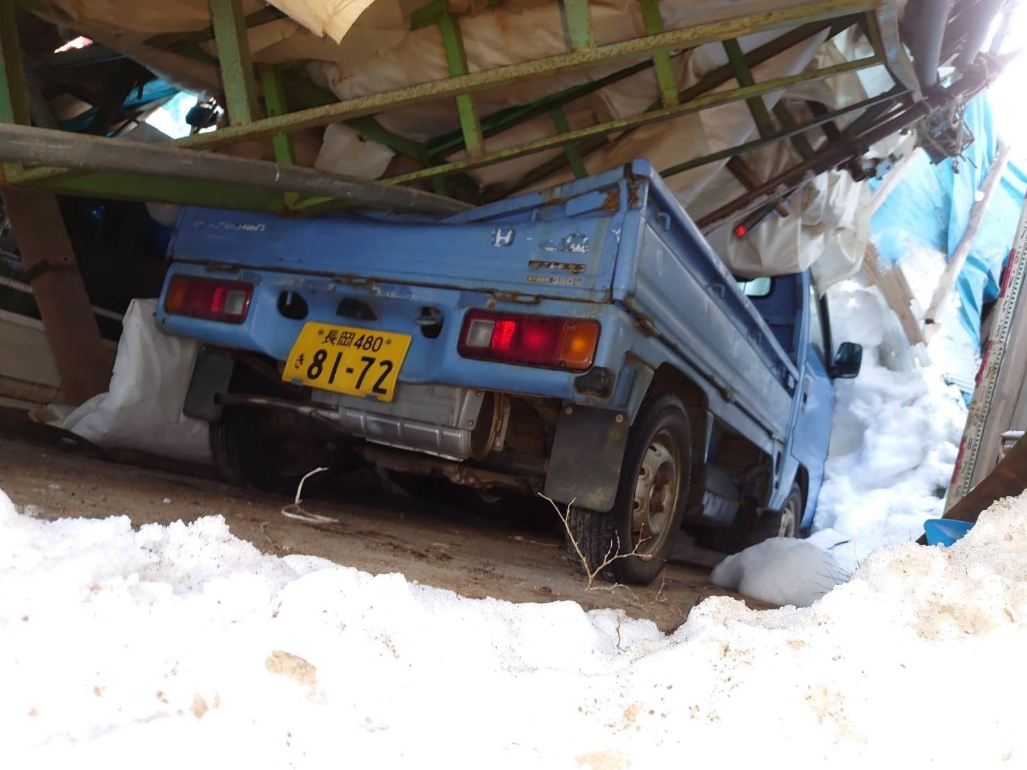上越大雪災害支援チケット (成田農場)のイメージその1
