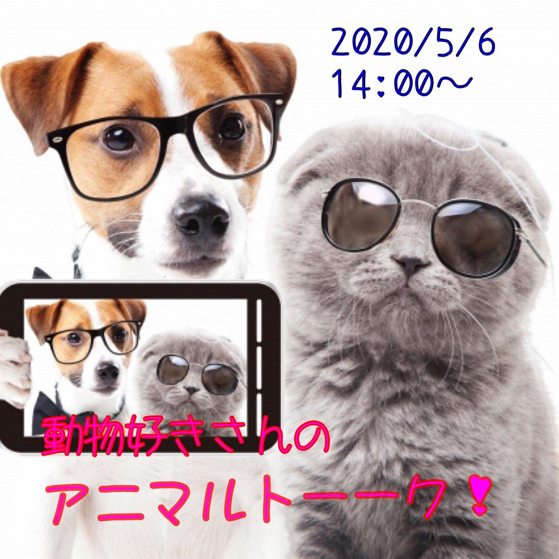 【5/6オンラインイベント】動物好きさんのアニマルトーーク!のイメージその1