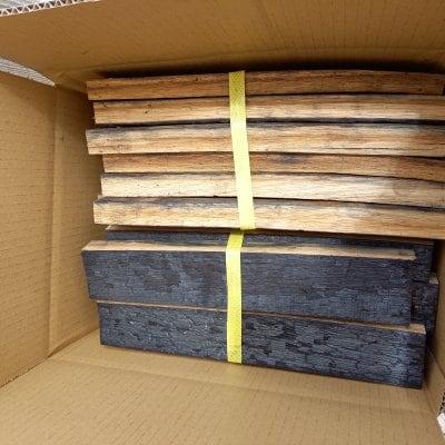 ウィスキー樽の薪・焚火・薪ストーブ・薪焼用
