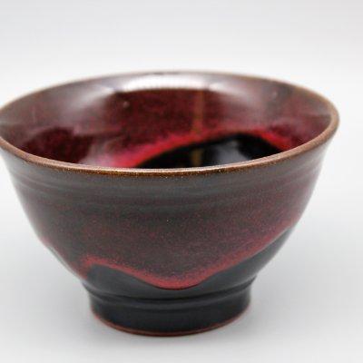 碗(赤黒)