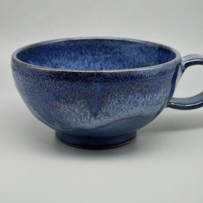 スープカップ(北海道ブルー)