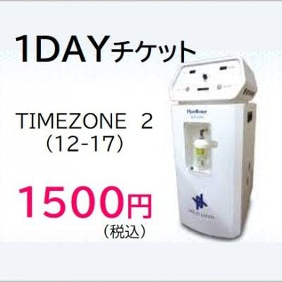 【現地払い専用】1DAYチケット タイムゾーン2