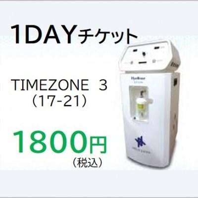 【現地払い専用】1DAYチケット タイムゾーン3