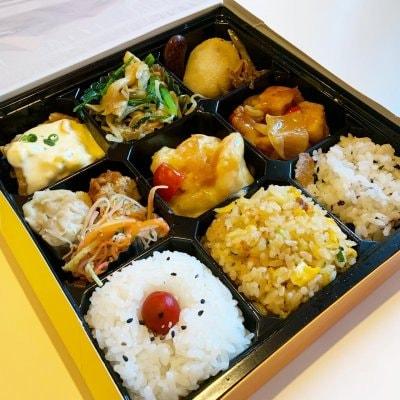 【テイクアウト・店頭お払いのみ対応】1000円杏てい彩り弁当|ポイント付き♪