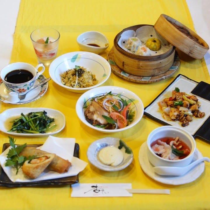 杏てい ディナーコース料理 ¥2,500 (税別)|お得なウェブチケット|ポイント付き♪【現地払いのみ対応】長崎諫早 中華料理のイメージその1