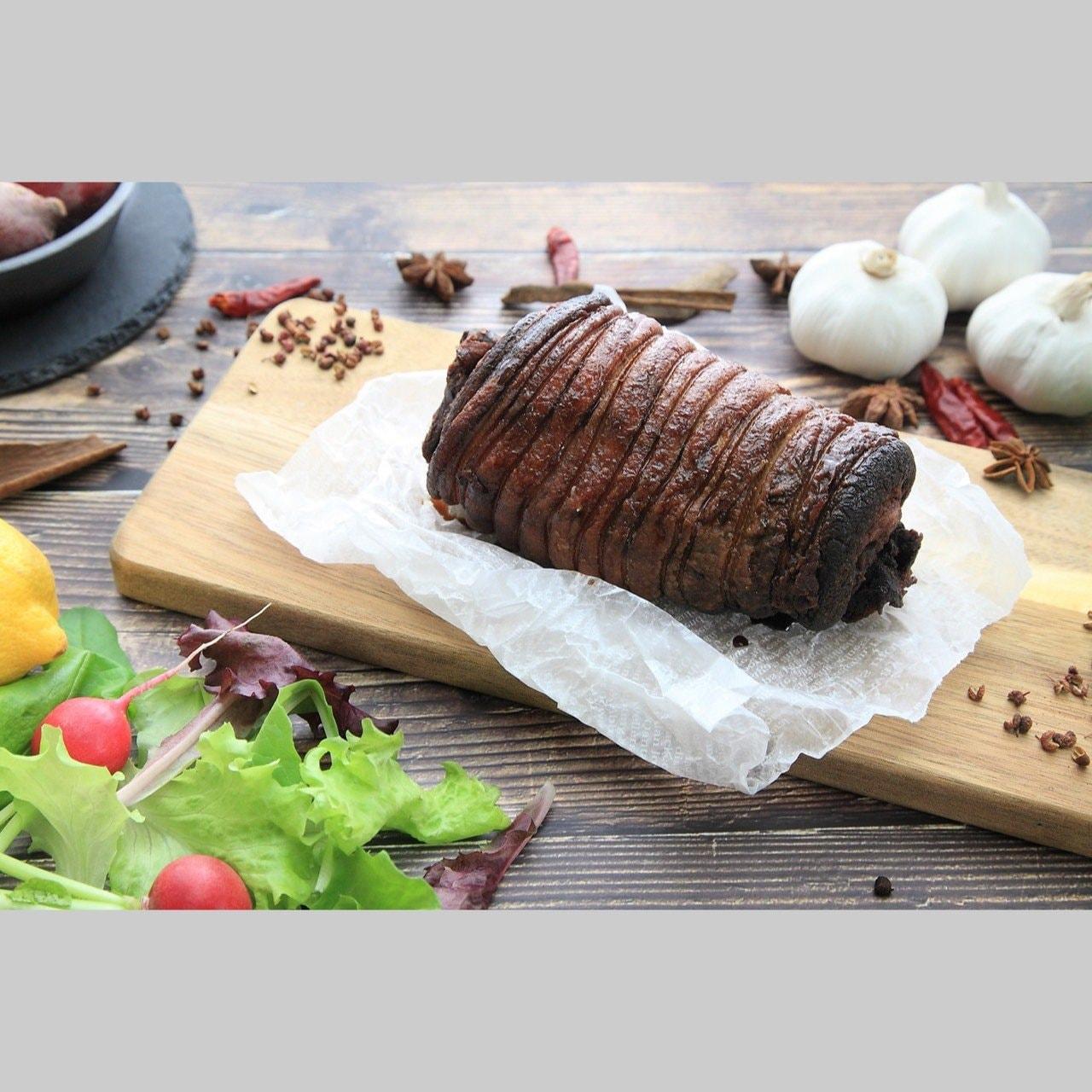 長崎のこだわりブランド豚「あかね豚」の激ウマ煮込みチャーシュー約500g 1本|テイクアウト・ポイント付き♪のイメージその3