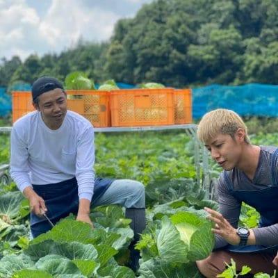 野菜の日〜農業男子とやさい愛を叫ぼう!!さいねい龍二さんとのオンラインイベント
