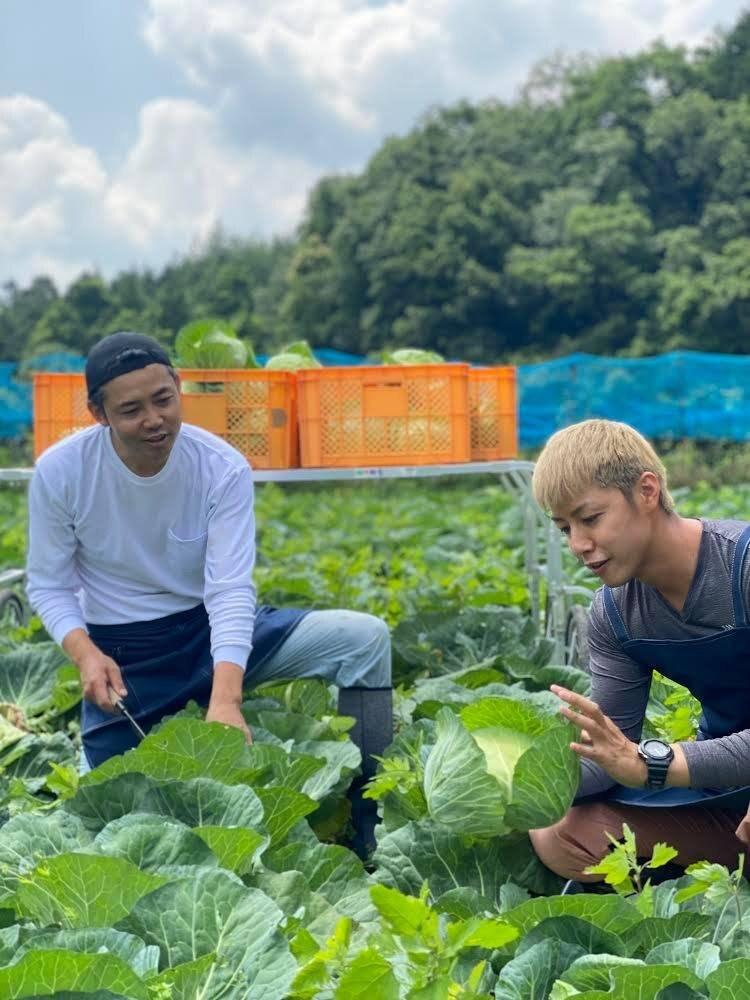 野菜の日〜農業男子とやさい愛を叫ぼう!!さいねい龍二さんとのオンラインイベントのイメージその1