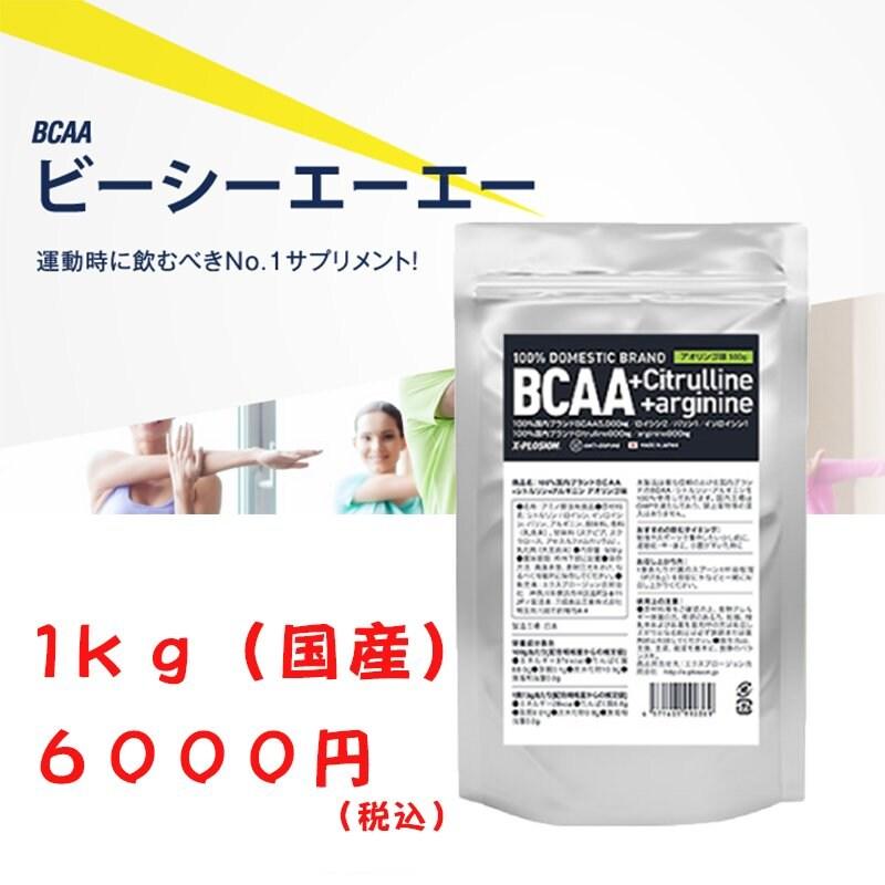 必須アミノ酸BCAA エクスプロージョン アセロラ味 1kg 6000円(税込)購入チケットのイメージその1