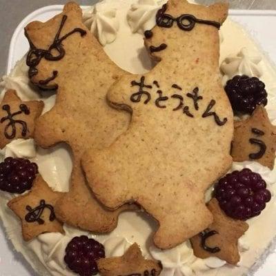 記念日のケーキ 直径約16cm