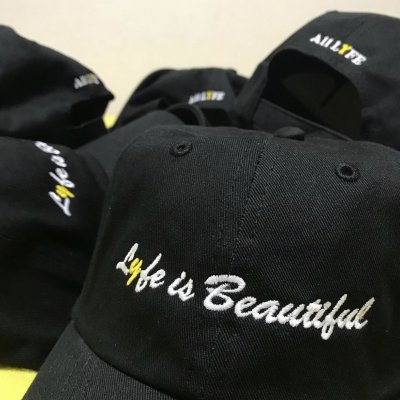 ALL LYFE/オールライフ【COLLECTION 2 LYFE IS BEAUTIFUL CAP】