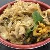 豚バラ肉の生姜焼き丼/七福