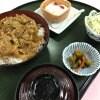 ランチ【豚バラ肉の生姜焼御膳】七福