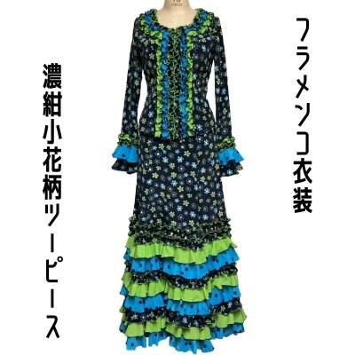 【一点限り既製品】フラメンコ衣装*ツーピース(D170)