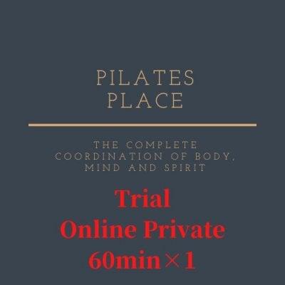 無料カウンセリング10分付き 【オンライン】 プライベートピラティス 60分 コース体験チケット