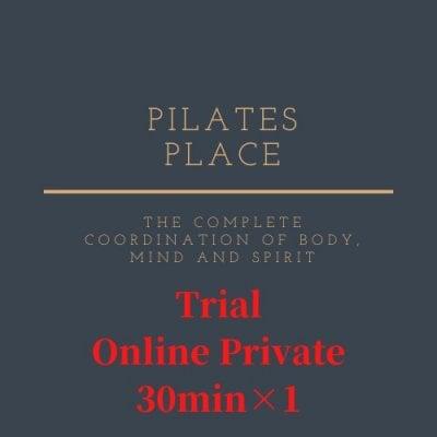 無料カウンセリング10分付き【オンライン】 プライベートピラティス 30分 コース体験チケット