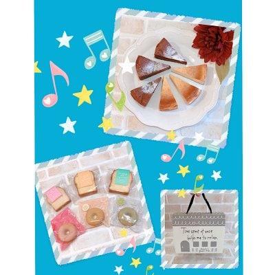 チーズケーキ・焼き菓子セット(1セット)